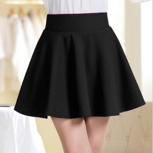 Chân váy xoè vải umi dáng ngắn độ dài 45-50cm