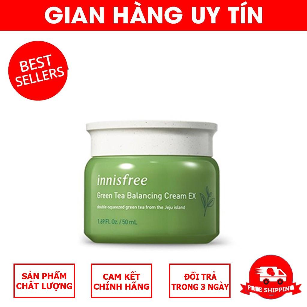 Kem dưỡng trà xanh Innisfree Green Tea Cream (MẪU MỚI 20019)