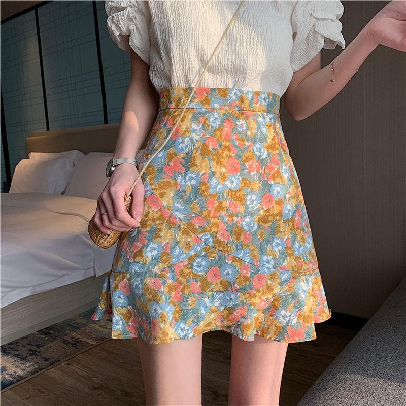 Chân Váy Đuôi Cá Lưng Cao Thời Trang Hàn Quốc 2020 Cho Nữ