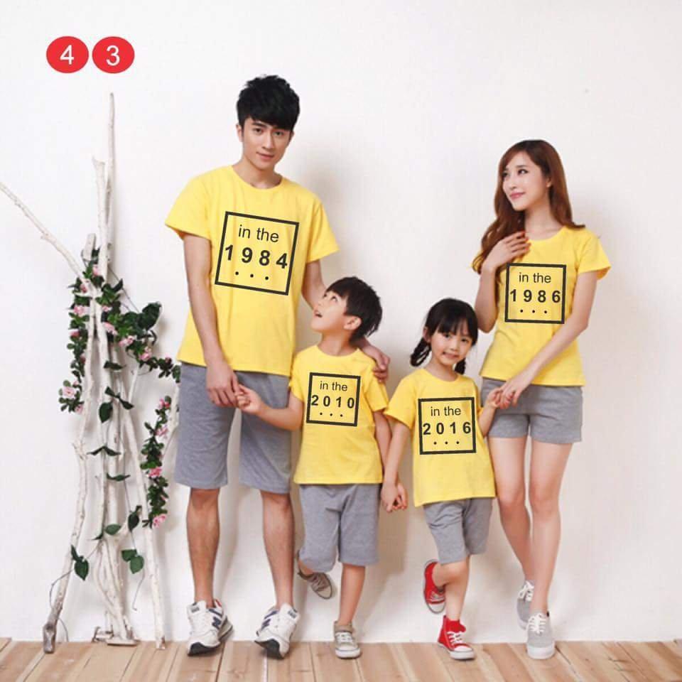 áo gia đình-gia đình