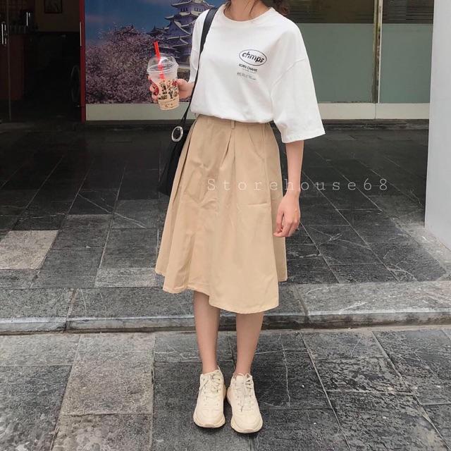 Chân váy thô 01 (3 màu)
