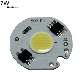 3/5/7/10W AC 200-240V LED Floodlight Spotlight COB Chip Light Lamp Beads Panel