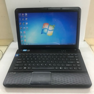 Máy laptop Sony Vaio VPC-EG36EG Core i3-2350M 2.30GHz, 4GB ram, 500GB hdd, vga Intel hd Graphics 3000, 14 inch. Đẹ