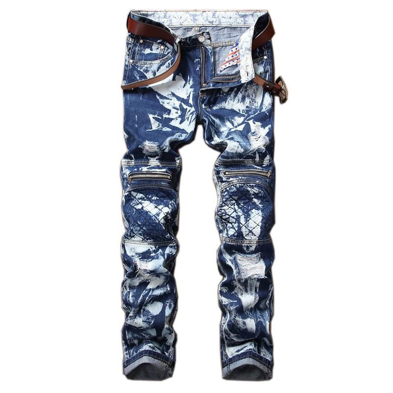 Quần jean nam có dây kéo chất lượng cao