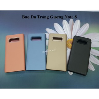 Bao da clear view standing cover samsung Note 8 - Pksieure333