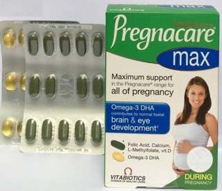 Vitamin Bầu Pregnacare Max -UK ( No Táo)