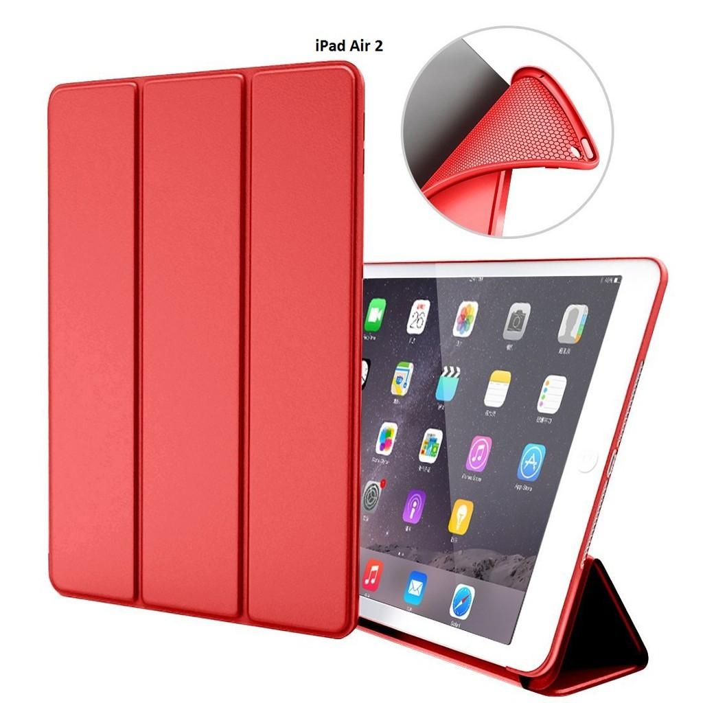 Bao da kiêm ốp lưng cho iPad Air 2(đỏ) M2