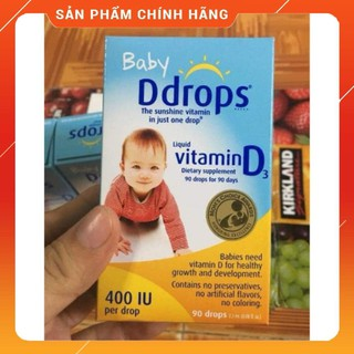 Vitamin d3 drop Mỹ