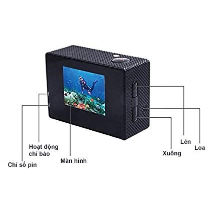 Camera Hành Trình Xe Máy Giá Rẻ SJ4000 - Camera Ngoài Trời Chống Nước Quay Phim Độ Nét Cao