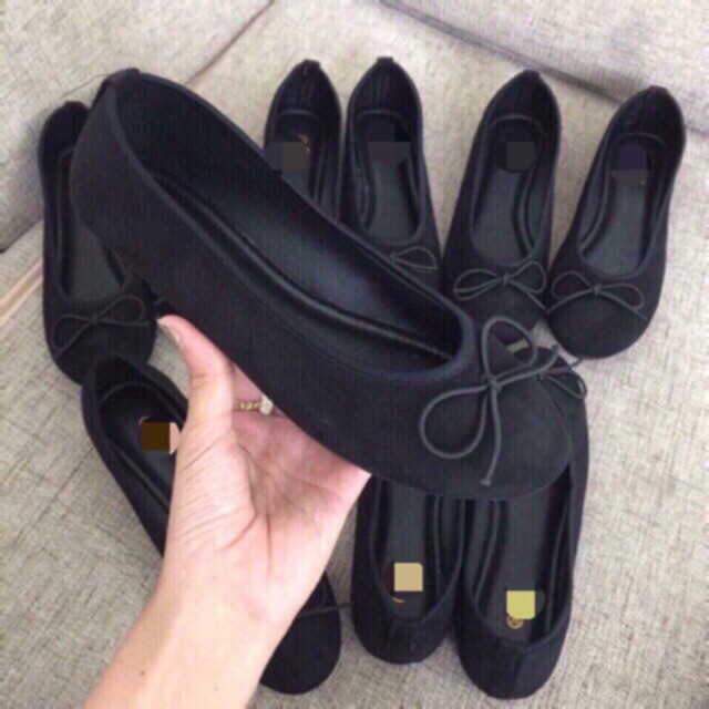 Giày búp bê nơ ẢNH THẬT