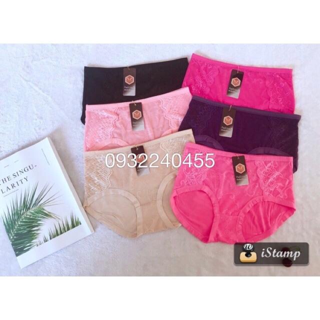 Combo 10 quần lót nữ cotton form to 55-75kg