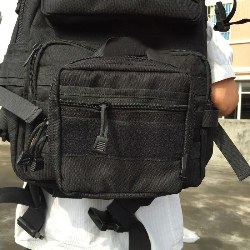 Flashlight Bag Notebook Key 1000D Molle Tactical Military 1000D Nylon Universal