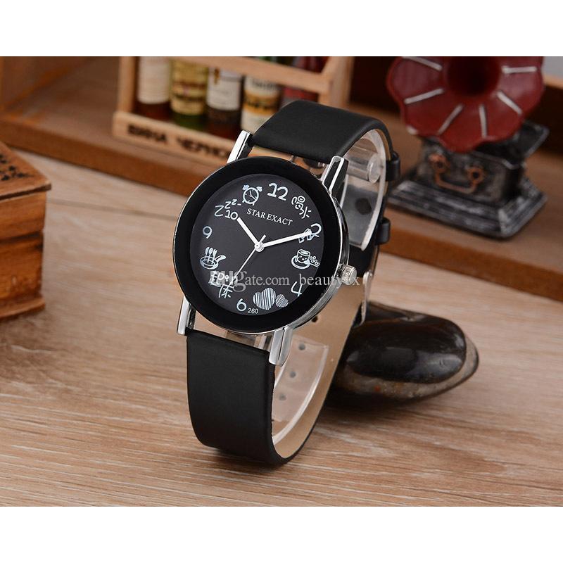 Đồng hồ nam JIS HSP8231 dây da pu thời trang