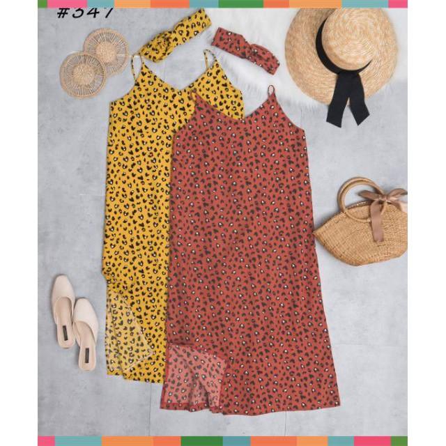 [SALE OFF] Váy báo 2 dây kèm tuban_TL6109 thời trang elly
