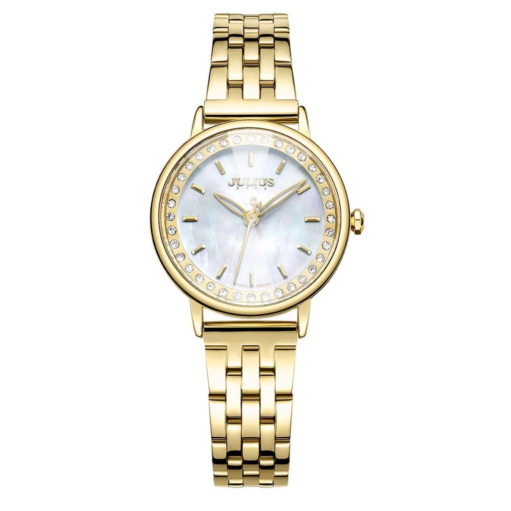 Đồng hồ nữ dây thép Julius JA-959B - JU1209 (Vàng) chính hãng Hàn Quốc