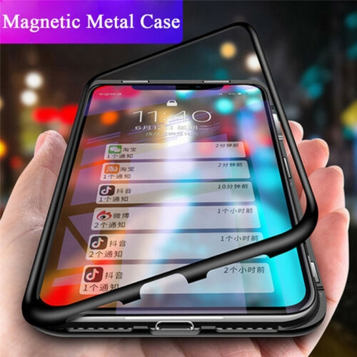 Magnetic Absorption Tempered Glass Case Cover For Samsung S20 Ultra S20 Plus S10E S9 Plus S8 S7 Note 10