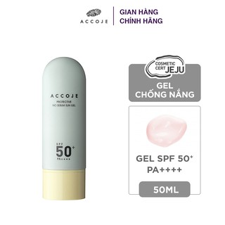 Gel chống nắng Accoje Protective No Sebum Sun Gel SPF 50+ PA++++ 50ml