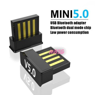 MG Wireless Mini Dongle USB Bluetooth 5.0 Adapter Connector for Computer Laptop @vn