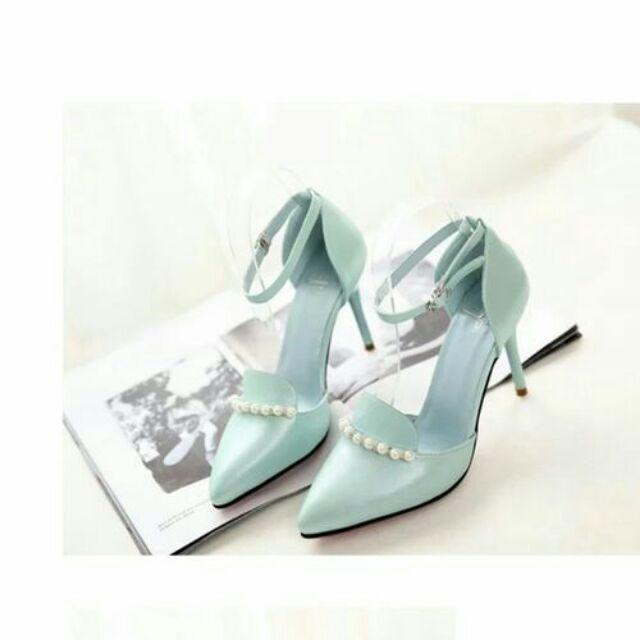 Giày đính cườm g300