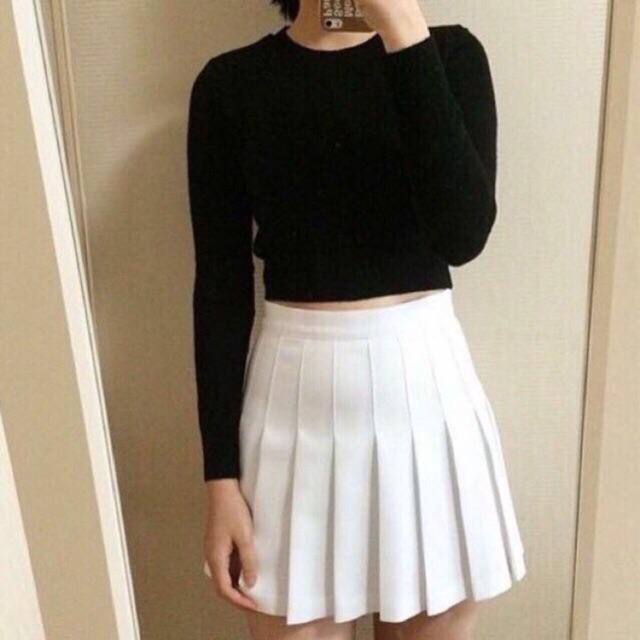 Chân váy Tennis trắng