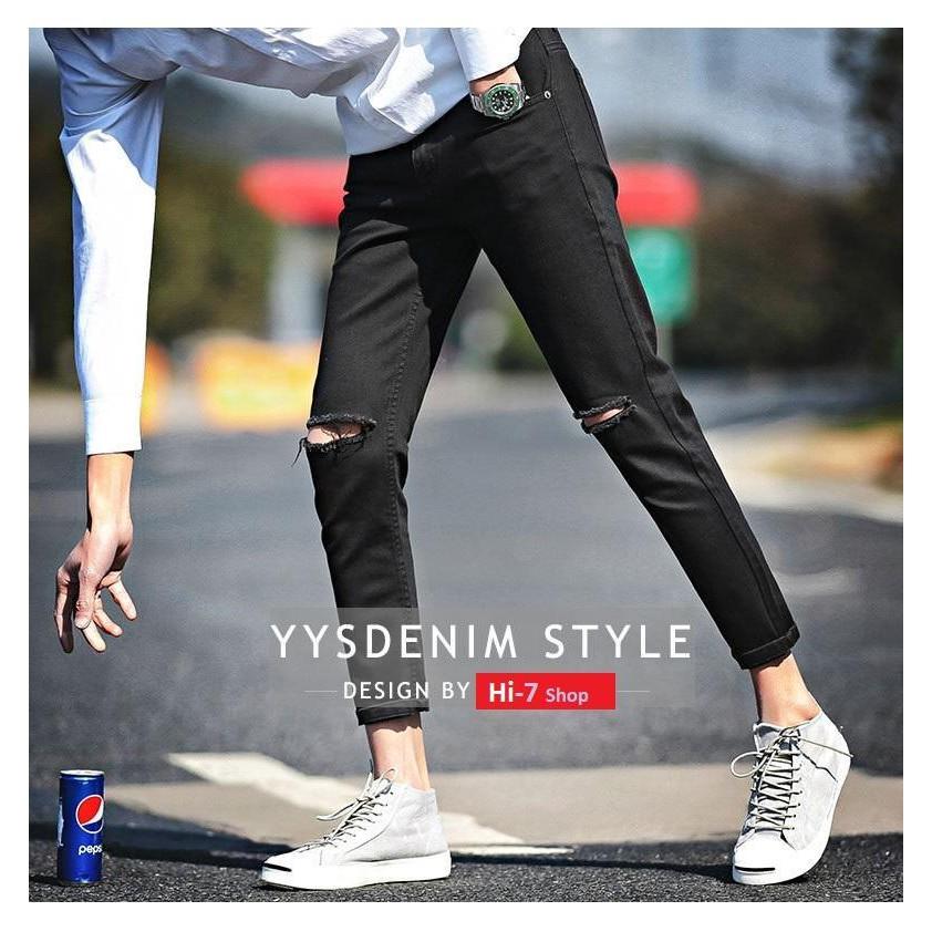 Quần Jean Cá tính thời trang phong cách mẫu mới vải đẹp PV01.1R