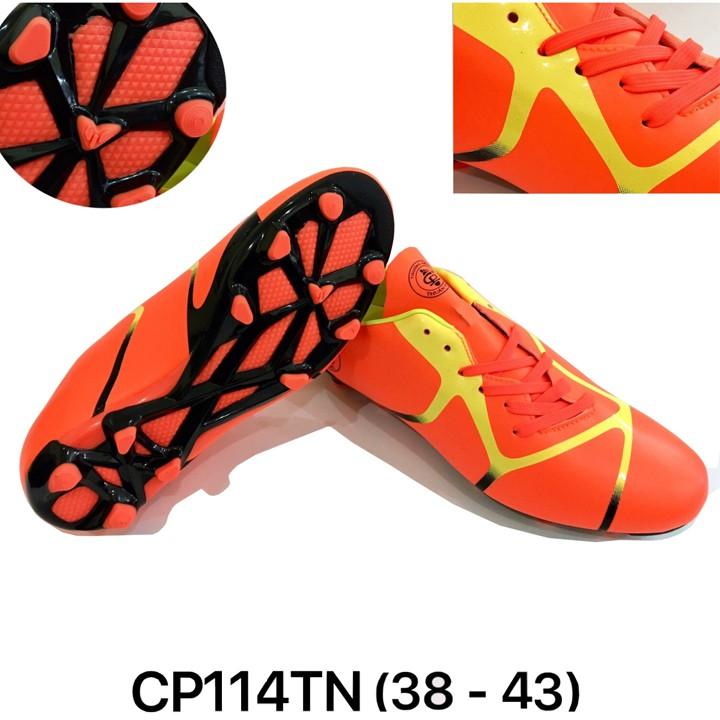 Giày Đá Bóng CP114TN Cam Dòng Cao Cấp