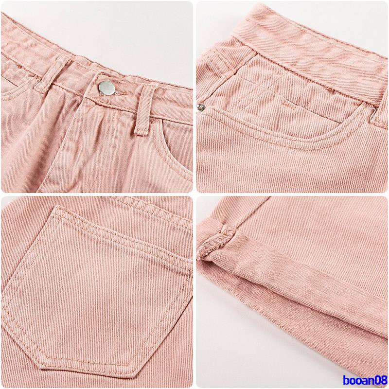 Full 250000 delivery Premium sale summer 2019 new Korean version of high waist curling white wide leg jeans shorts femal