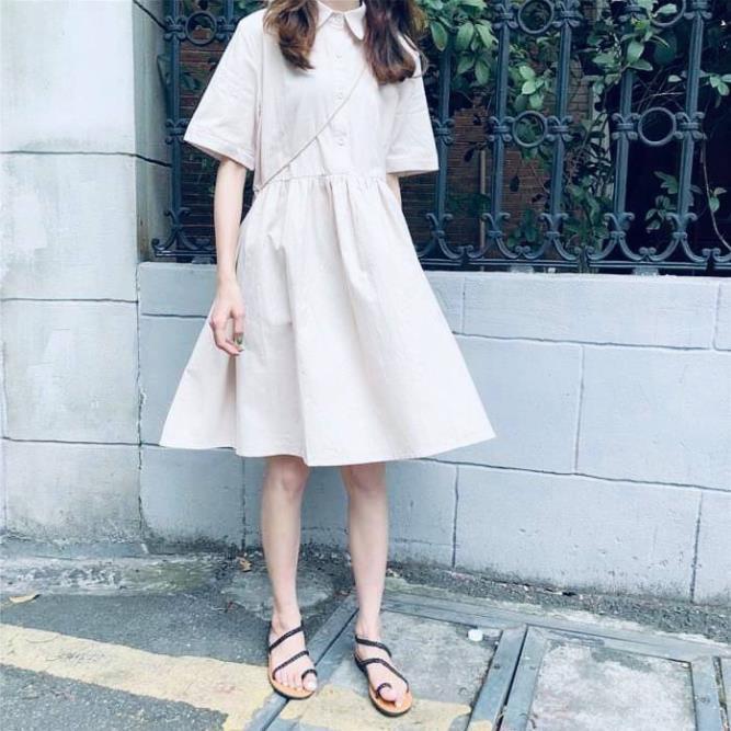 [RẺ VÔ ĐỊCH] Váy babydoll cộc tay - đầm nữ dáng xòe xinh xắn giá rẻ (Sỉ từ 5sp bất kỳ) >