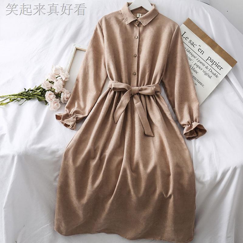 Chân Váy Lưng Cao Phong Cách Retro Hong Kong