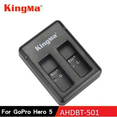 Sạc Pin GoPro Hero5/6, AHDBT-501, KingMa Chính hãng