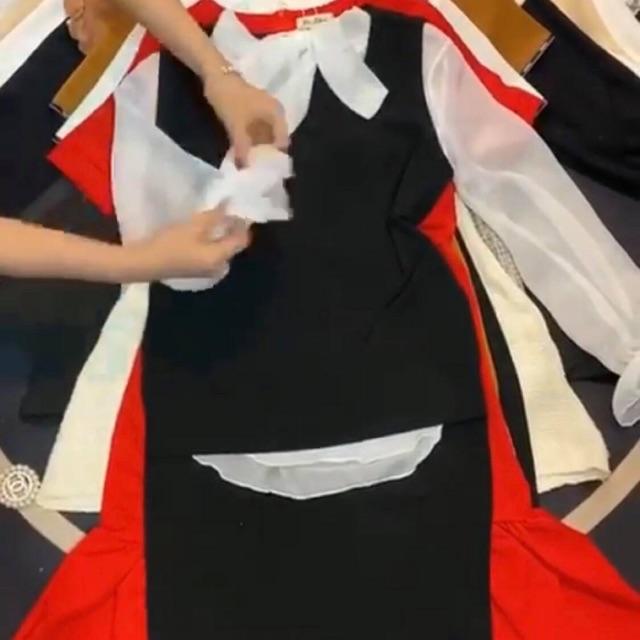 Set bộ áo voan + đầm
