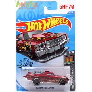 Hình ảnh Xe Mô Hình Hot Wheels Custom '71 El Camino Collections HW Dream Garage - 2020 - GHF70