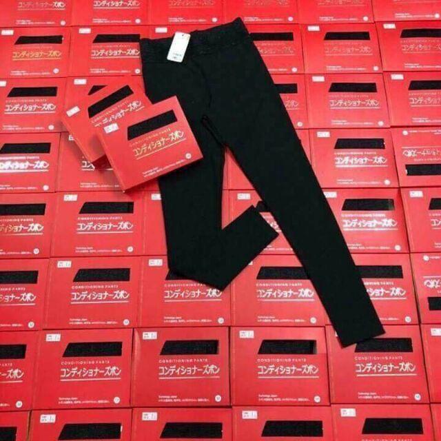 quần leggings hộp đỏ
