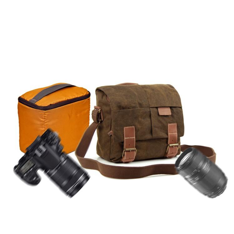 Túi đựng máy ảnh vải Canvas N2