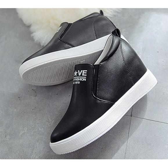 Giày lười đệm gót hàng Quảng Châu xuất Hàn T687