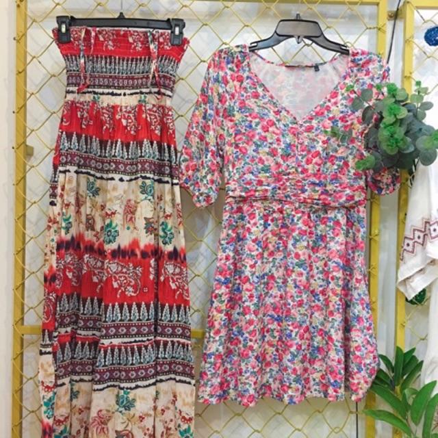 Combo 3 món đầm váy vintage đáng yêu