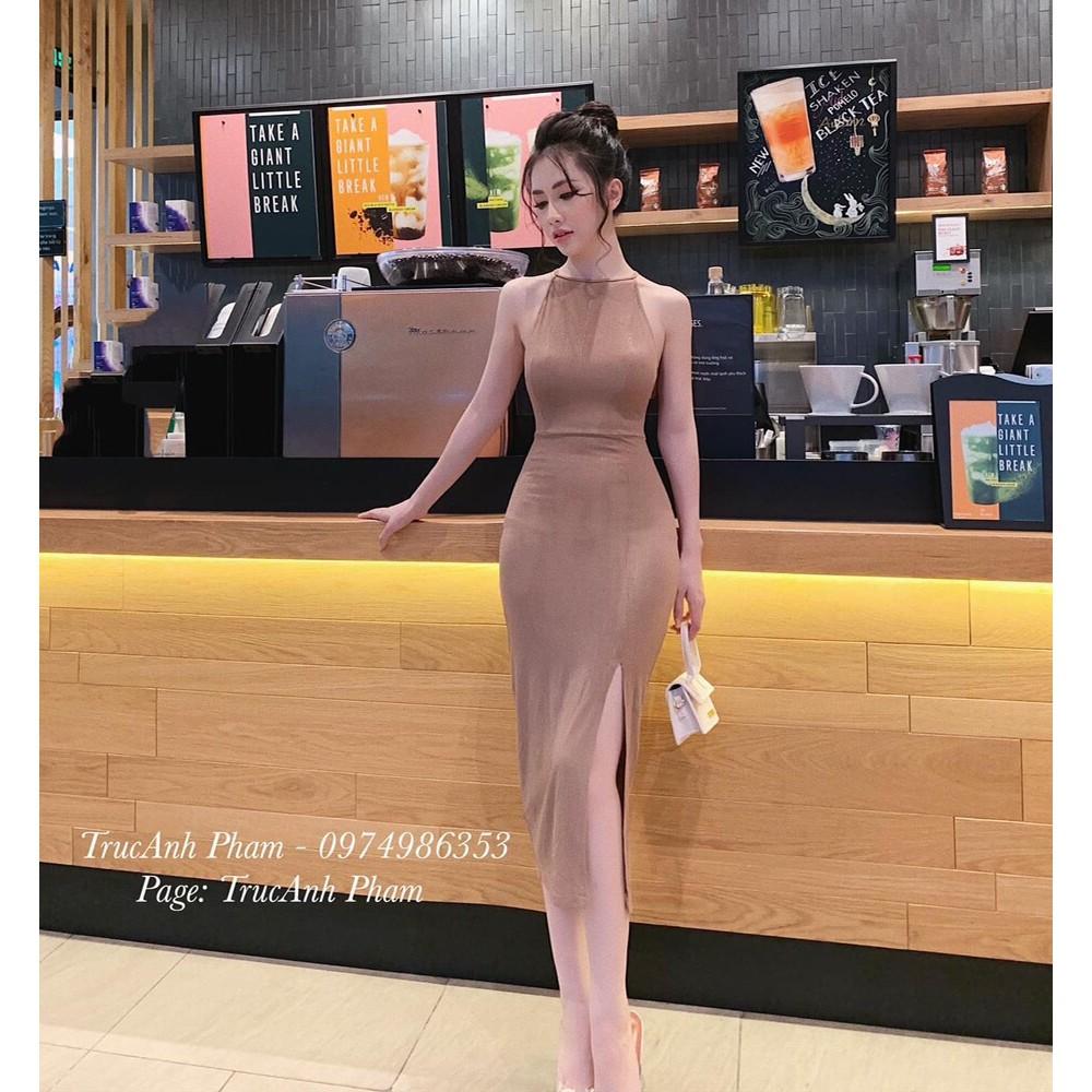 Đầm xẻ tà đẹp