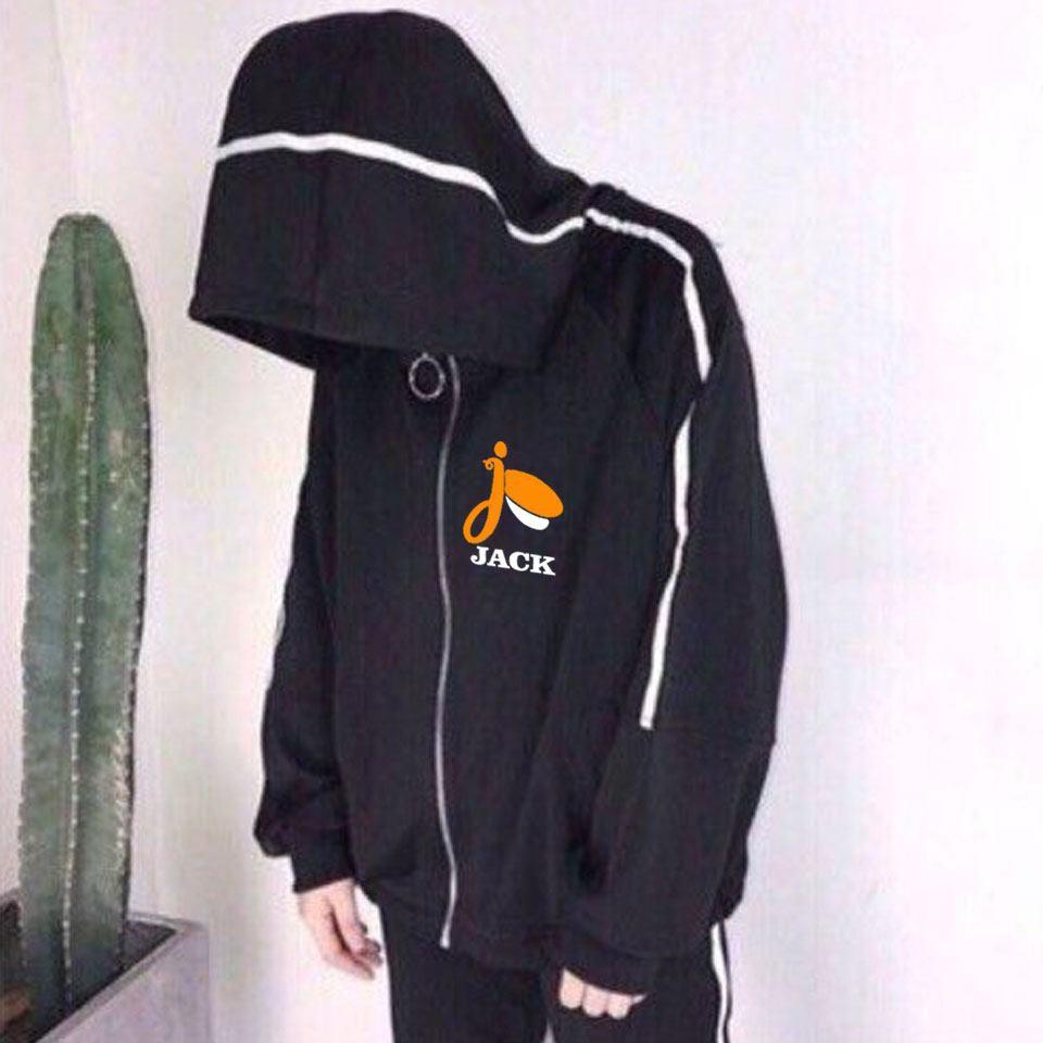 áo khoác JACK , áo JACK K-ICM phối sọc nỉ cá tính có đủ size in theo yêu cầu