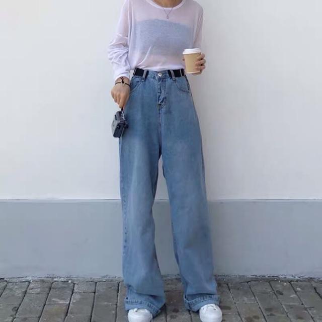 CÓ ẢNH THẬT Quần jeans hot hit phong cách Hàn Quốc