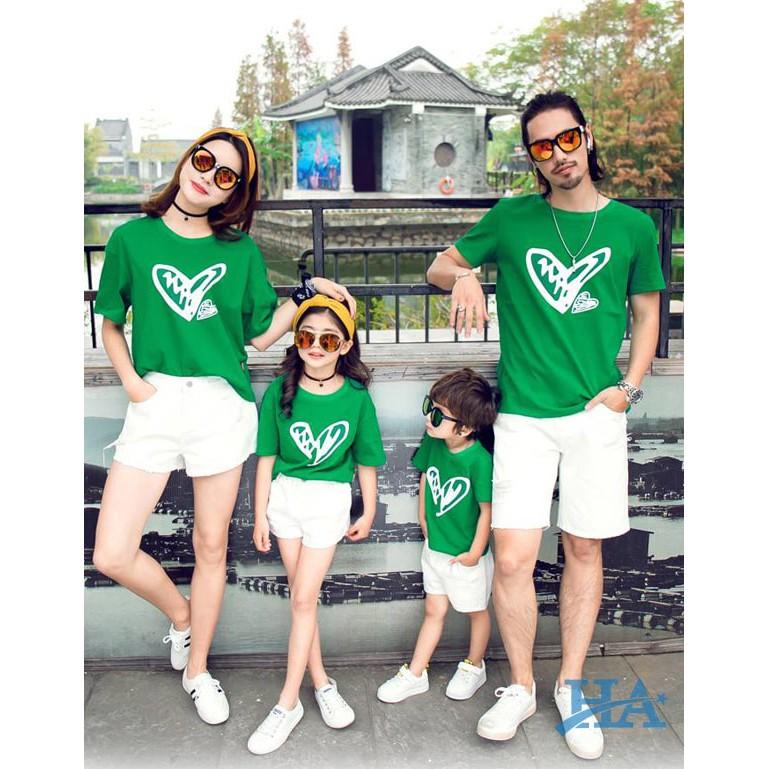 áo thun gia đình đi du lịch đẹp giá rẻ