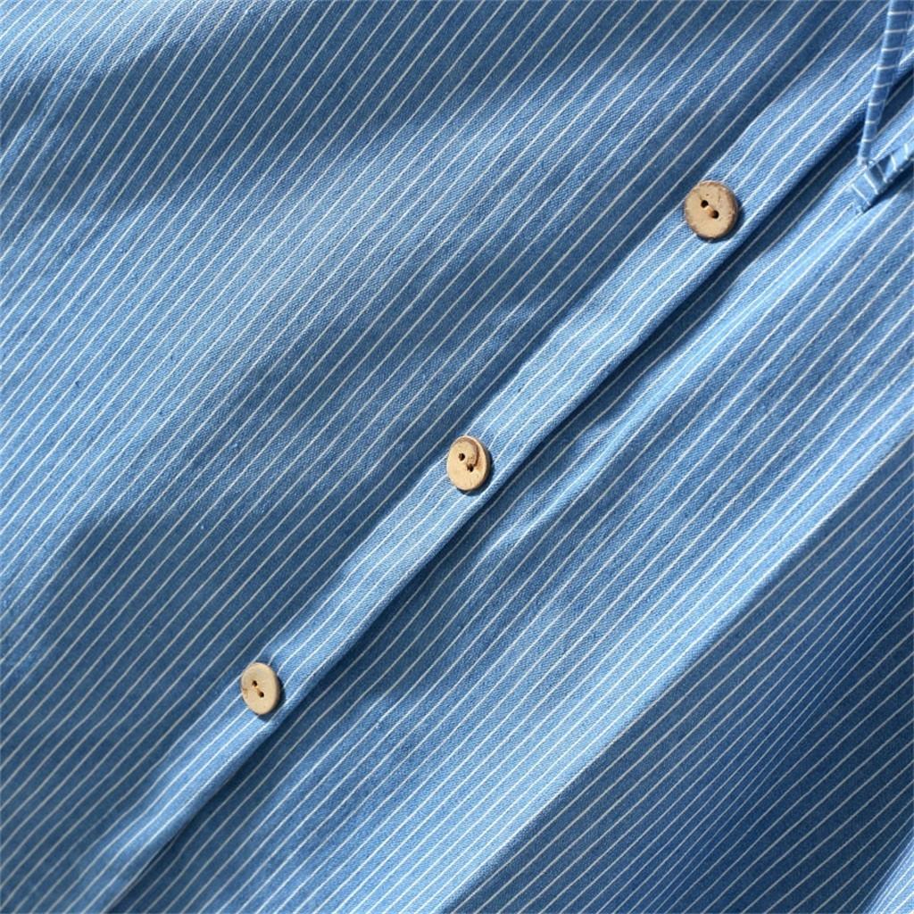 Chân váy denim dáng chữ A lưng cao hoạ tiết kẻ sọc cho phái nữ