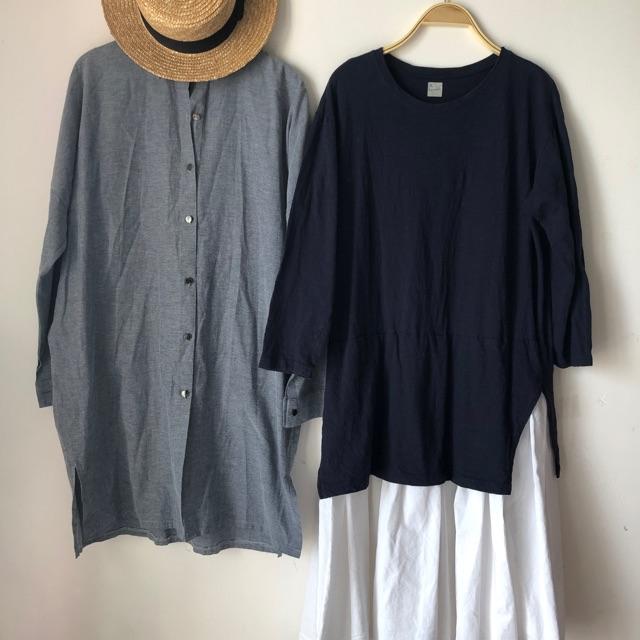 7916324853 - Combo đầm và áo xô Hàn Quốc - hàng si tuyển