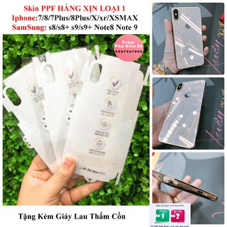 Miếng Dán Trong Suốt PPF Iphone (Hàng Loại 1)