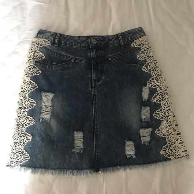 [ Si tuyển] Chân váy jeans