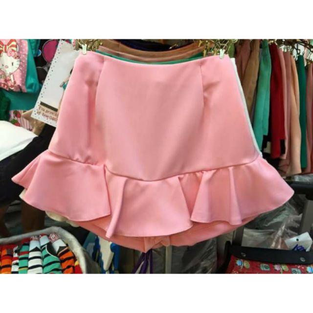 [Sale] Chân váy đuôi cá hồng hàng Thái