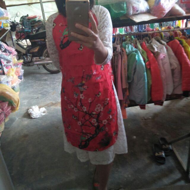 Set áo dài cách tân nữ 55, 60 kg