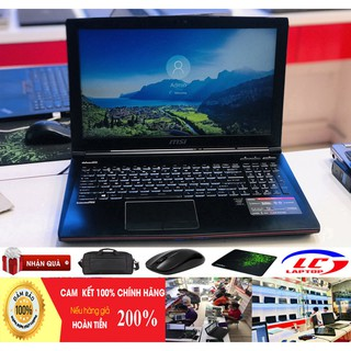 GAME MSI GE62 2QC Core I5-4210H RAM 8G SSD 128 + HDD 1TB VGA GTX 960M, 15.6 Inch Full HD Laptop gaming cũ chơi game