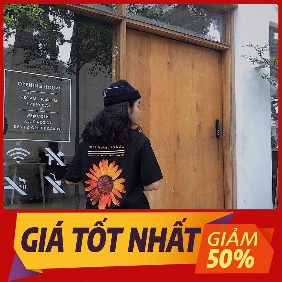 [SALE OFF 50%] Áo Thun Tay Lỡ INTERNATIONAL KOBE Màu Đen Unisex , áo thun tay lỡ, quần kaki