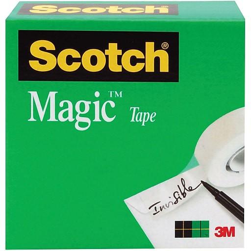 Băng Keo Ma Thuật 3M 810 Scotch Magic Tape - dán tiền không nhìn thấy băng keo