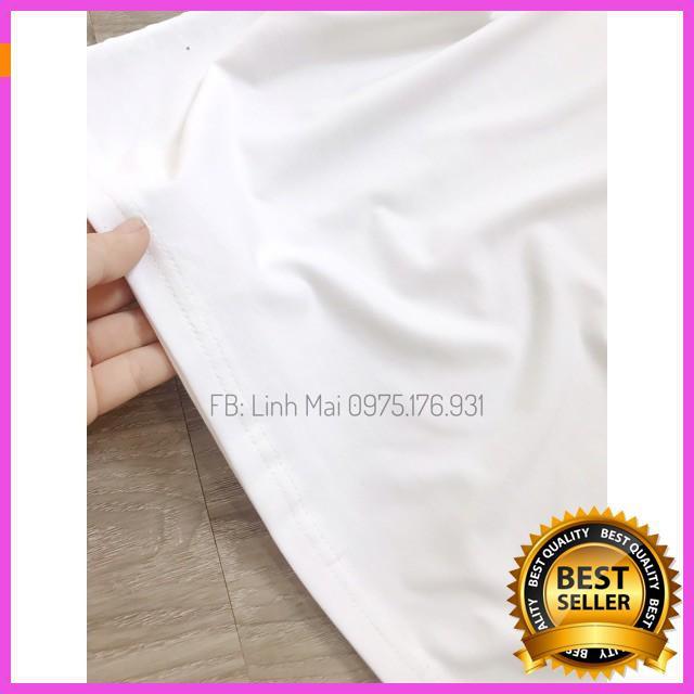 [ Hàng Đẹp ] Áo phông trơn cổ tim có túi, thời trang nữ, áo phông trẻ cho nữ, đi chơi, họa tiết